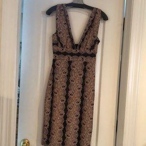Just Me sparkle rosette mini dress